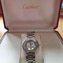 Cartier 21 Must de Cartier Stahl Silber Römisch Deutschland, Moers