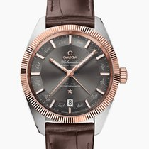 Omega Globemaster Gold/Steel 41mm Grey No numerals United Kingdom, Southampton