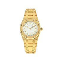 Audemars Piguet Royal Oak Lady usados 19.5mm Champán Oro amarillo