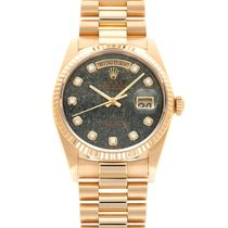 Rolex 18038 Yellow gold 1985 Day-Date 36 36mm pre-owned United States of America, California, Beverly Hills