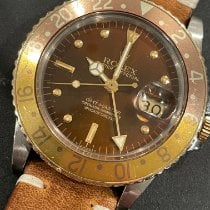 Rolex GMT-Master Gold/Steel 40mm Brown No numerals United States of America, Indiana, Zionsville