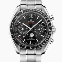 Omega Speedmaster Professional Moonwatch Moonphase Steel Black No numerals United Kingdom, Southampton