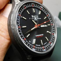 Ball Engineer II pre-owned 43mm Black Date Rubber