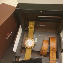 Tudor Black Bay Bronze Bronzo Marrone Arabi Italia