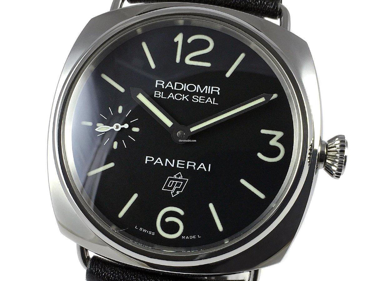 Panerai Radiomir Black Seal PAM 00380 2017 подержанные