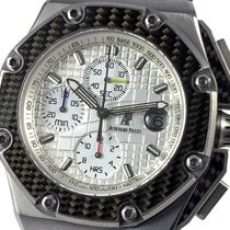 Audemars Piguet Royal Oak Offshore Chronograph Titânio 44mm Prata Sem números