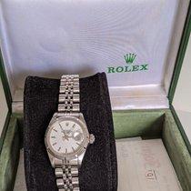 Rolex Oyster Perpetual Lady Date 69190 Muito bom Aço 26mm Automático Brasil, São Paulo