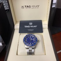 TAG Heuer Aquaracer 500M Steel 41mm Blue No numerals United States of America, California, Bakersfield