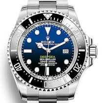 Rolex Sea-Dweller Deepsea Acciaio 44mm Blu Senza numeri Italia, Sanremo