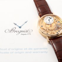 Breguet Tradition Yellow gold 37mm Silver Roman numerals United States of America, California, Los Angeles