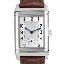 Jaeger-LeCoultre Manual winding Silver Arabic numerals 26mm pre-owned Reverso Grande Taille
