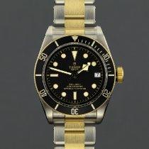 Tudor Black Bay S&G Acier 41mm Noir Sans chiffres