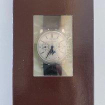 Patek Philippe Staal Handopwind Wit nieuw Perpetual Calendar Chronograph