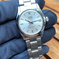 Rolex Oyster Precision Steel Silver No numerals United Kingdom, HAYES