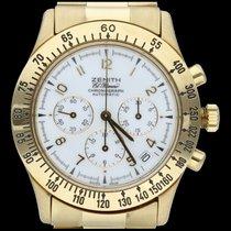 Zenith El Primero Chronograph Zuto zlato 40mm Bjel Arapski brojevi
