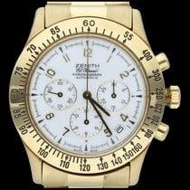 Zenith El Primero Chronograph Or jaune 40mm Blanc Arabes Belgique, Brussel