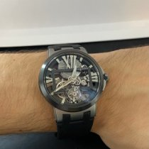 Ulysse Nardin Executive Skeleton Tourbillon Titane 45mm Transparent Romains