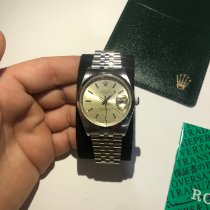 Rolex Oyster Perpetual Date Acero 34mm Champán Sin cifras España, Albacete