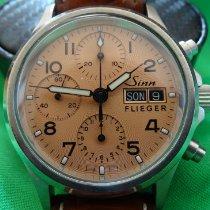 Sinn 356 Steel 38.5mm Champagne Arabic numerals