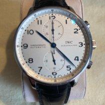 IWC Portuguese Chronograph Acier 41mm Blanc Arabes France, Mougins