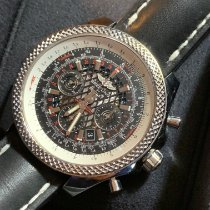 Breitling Bentley B06 Steel 49mm Black No numerals