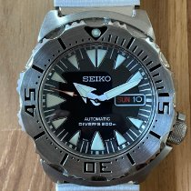 Seiko Monster Steel 43mm Black No numerals United States of America, New Jersey, Guttenberg