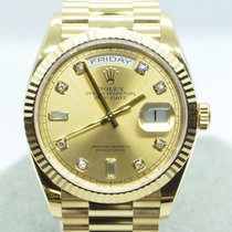 Rolex Day-Date 36 nieuw 2020 Automatisch Horloge met originele doos en originele papieren 128238