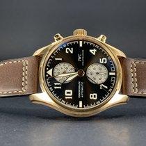 IWC Pilot Chronograph Rose gold 43mm Brown