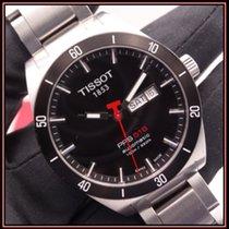 Tissot usados Automático 42mm Negro Cristal de zafiro 10 ATM
