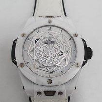 Hublot Big Bang Sang Bleu Ceramic 45mm White