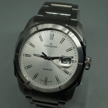 Candino pre-owned Quartz 43mm Silver Sapphire crystal 10 ATM