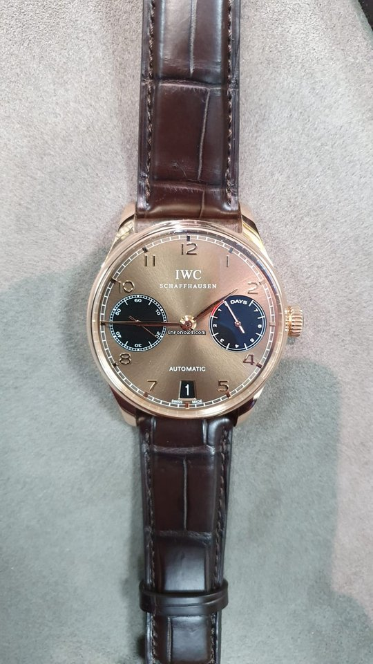 IWC Portuguese Automatic IW500124 подержанные