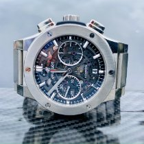 Hublot Classic Fusion Aerofusion pre-owned 45mm Transparent Chronograph Titanium