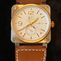 Bell & Ross BR 03-90 Grande Date et Reserve de Marche Gold/Steel 42mm White Arabic numerals United States of America, Texas, Houston