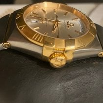 Omega Constellation Day-Date Gold/Steel 38mm Silver United Kingdom, m16 8fw