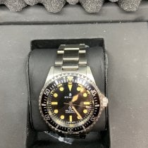 Steinhart pre-owned Automatic 42mm Black Sapphire crystal