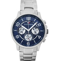 Tommy Hilfiger Steel 44mm Quartz 1791293 new