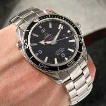 Omega Seamaster Planet Ocean Steel 45mm Black Arabic numerals United States of America, Wisconsin, La Crosse