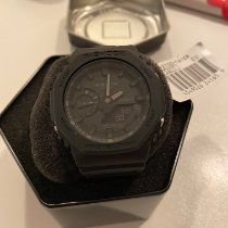 Casio G-Shock GA-2100-1A1 Unworn Carbon 48.5mm Quartz