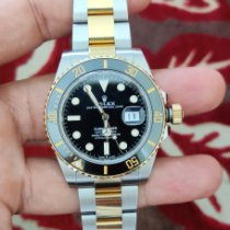 Rolex Submariner Date Gold/Steel Black No numerals India, Navi Mumbai