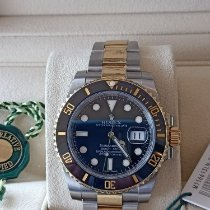 Rolex Submariner Date Gold/Steel Black No numerals Australia, 4810