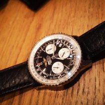 Breitling Navitimer Cosmonaute Steel Black Arabic numerals United States of America, nea redesto