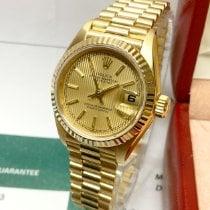 Rolex Lady-Datejust Yellow gold 26mm Gold No numerals United Kingdom, Wilmslow
