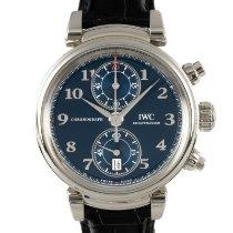 IWC Da Vinci Chronograph ny 2020 Automatisk Kronograf Klocka med originallåda och originalhandlingar IW393402