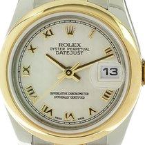 Rolex 179163 Or/Acier 2005 Lady-Datejust 26mm occasion