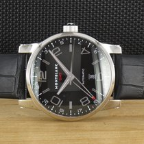 Montblanc Timewalker Acero 42mm Negro