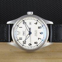 IWC Fliegeruhr Mark Stahl 40mm Weiß Deutschland, Prüm