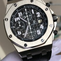 Audemars Piguet Royal Oak Offshore Chronograph Stahl 42mm Schwarz Arabisch