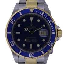 Rolex 16613 Or/Acier 2004 Submariner Date 40mm occasion