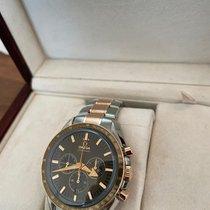 Omega Speedmaster Broad Arrow Gold/Steel 42mm Brown UAE, Dubai